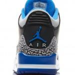 Air Jordan 3 Retro von hinten