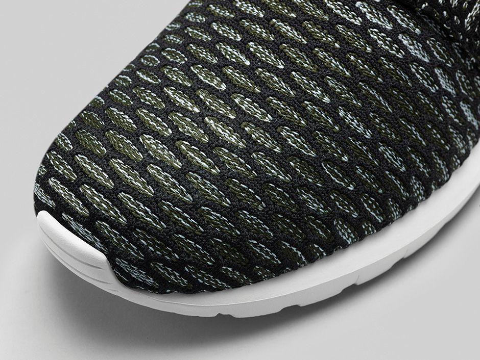Nike Roshe Flyknit Grau