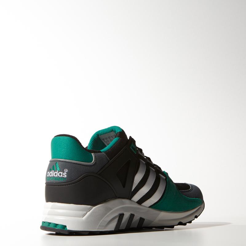 adidas eqt running support 93 OG Pack in grün von hinten