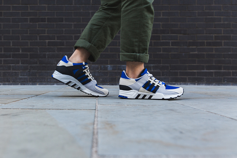 adidas eqt running support 93 OG Pack outdoor blauer farbweg