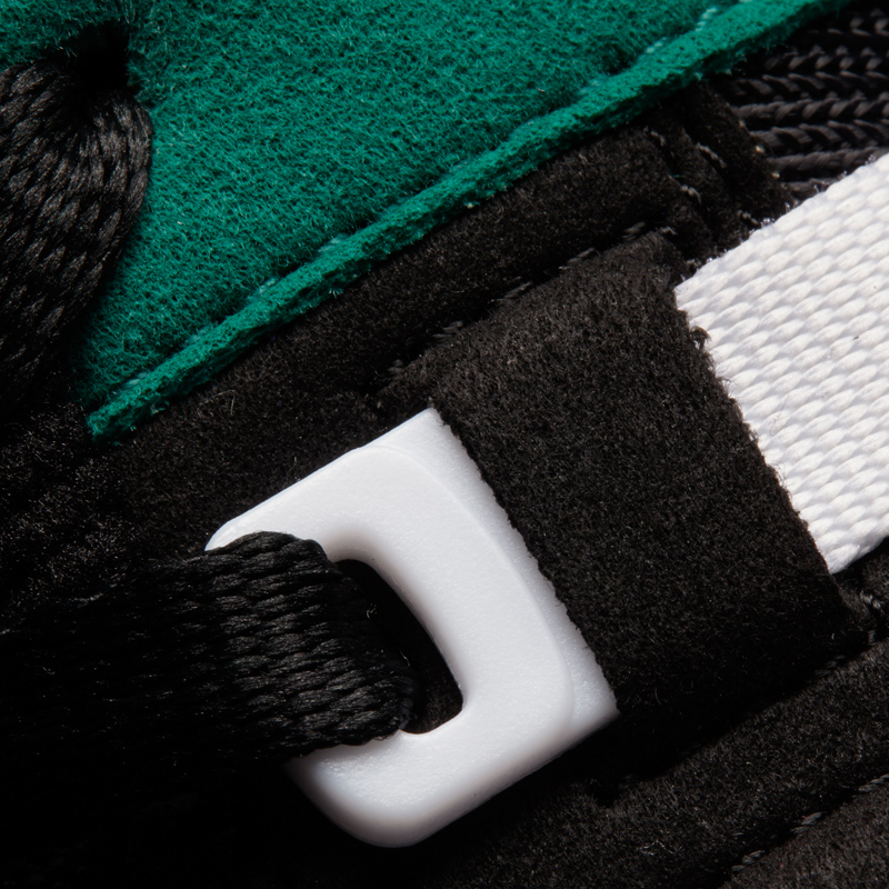 adidas eqt running support 93 OG Pack in grün close up