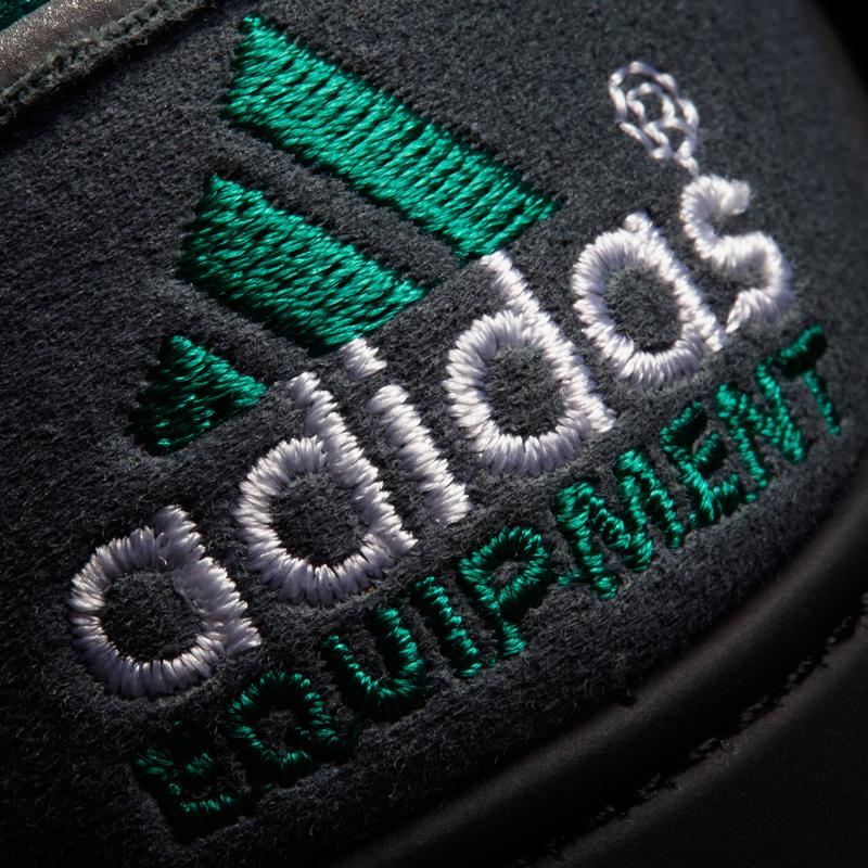 adidas eqt running support 93 OG Pack close up ferse