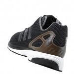 das adidas originals zx flux zero tech casual pack mit braunem heel cage