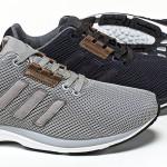 das adidas originals zx flux zero tech casual pack kommt mit zwei tonalen colorways