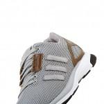 das adidas originals zx flux zero tech casual pack von schräg unten