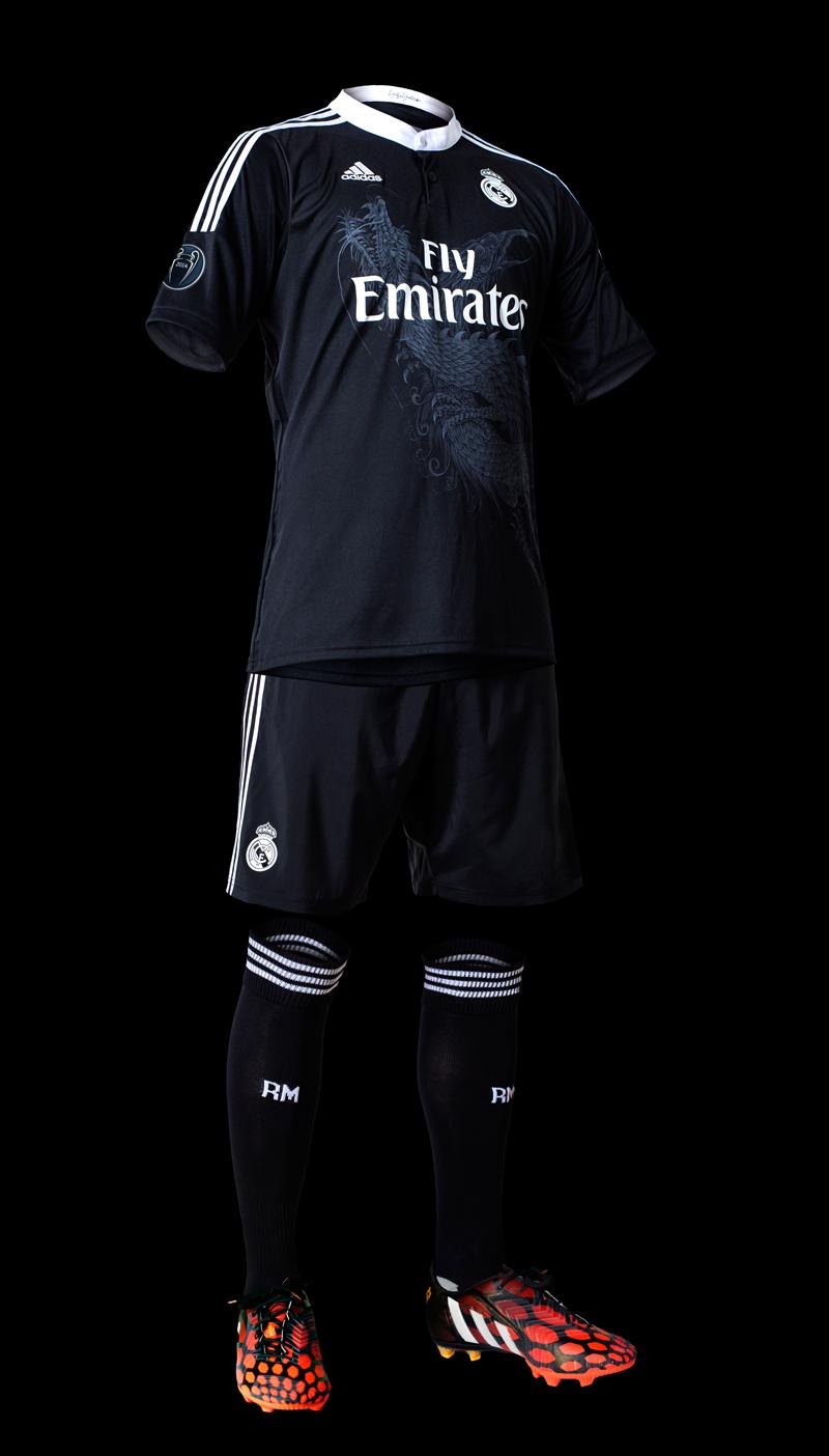 adidas pr sentiert real madrid champions league trikot. Black Bedroom Furniture Sets. Home Design Ideas
