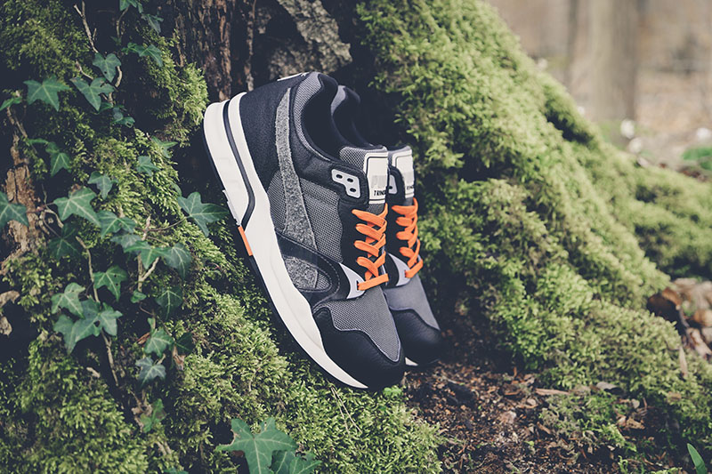 Puma Trinomic XT1 Plus Winter Pack dunkelgrau Colorway im Wald