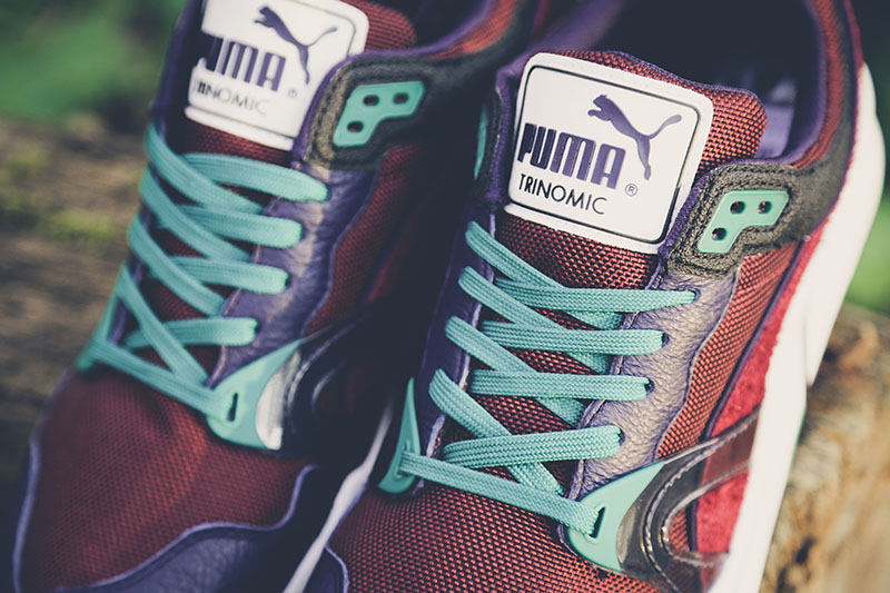 Puma Trinomic XT1 Plus Winter Pack von Oben mit türkisen Laces