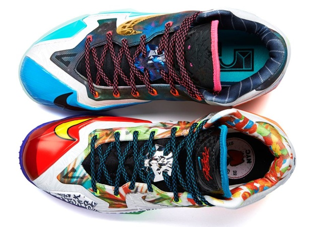 Nike LeBron 11 'What The' Edition von oben