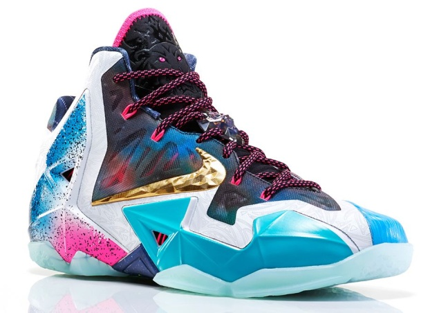 Nike LeBron 11 'What The' Edition rechter Schuh