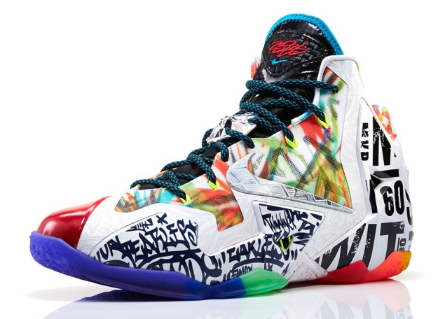 Nike LeBron 11 'What The' Edition linker Schuh