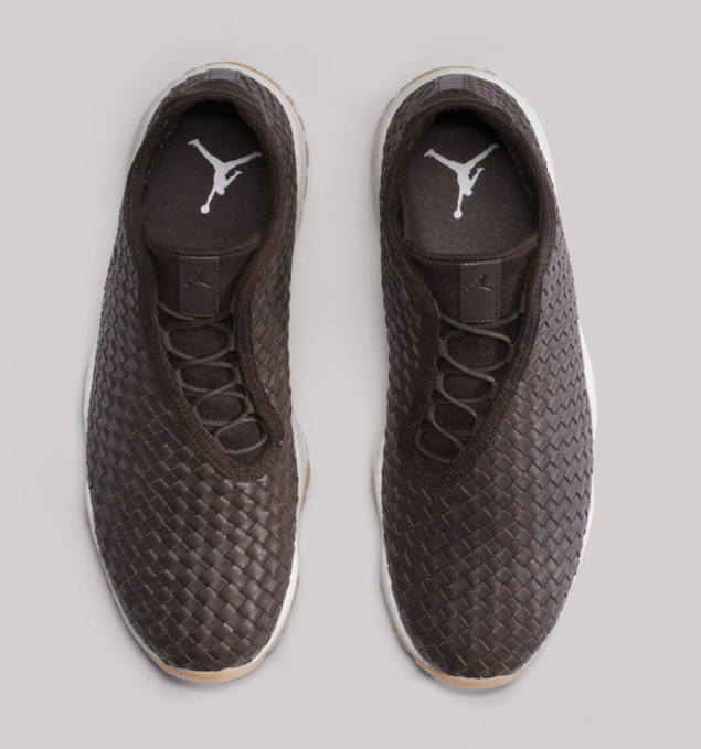 Air Jordan Future Premium Dark Chocolate von oben