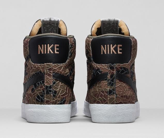 Nike Blazer Safari Colleciton Comouflage von hinten