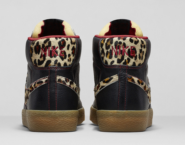 Nike Blazer Safari Colleciton Leopard von hinten