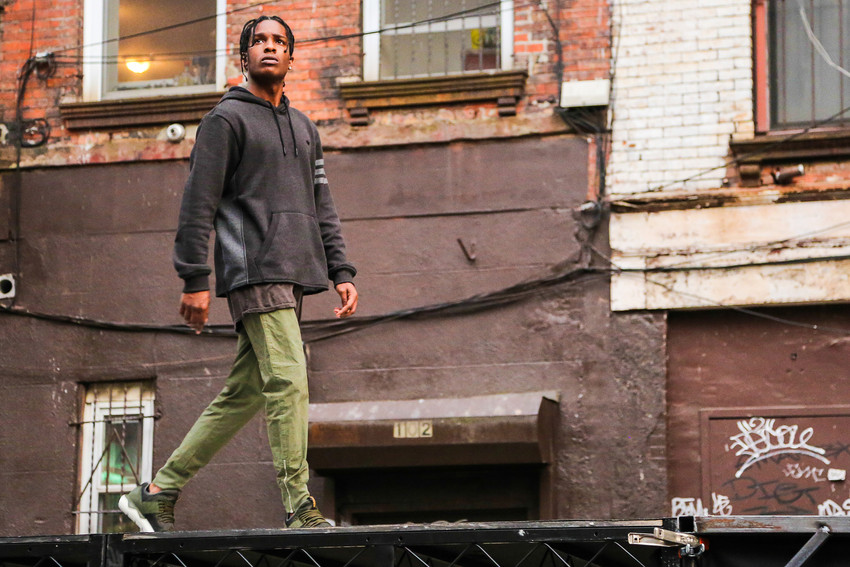 Foot Locker x A$AP Rocky x adidas Originals Tubular Runner S live