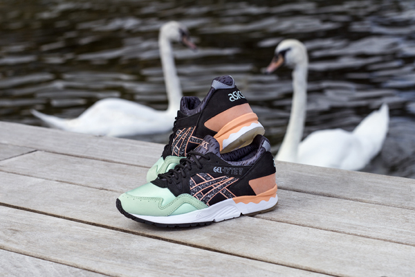 NAKED X ASICS GEL-LYTE V HAFNIA double