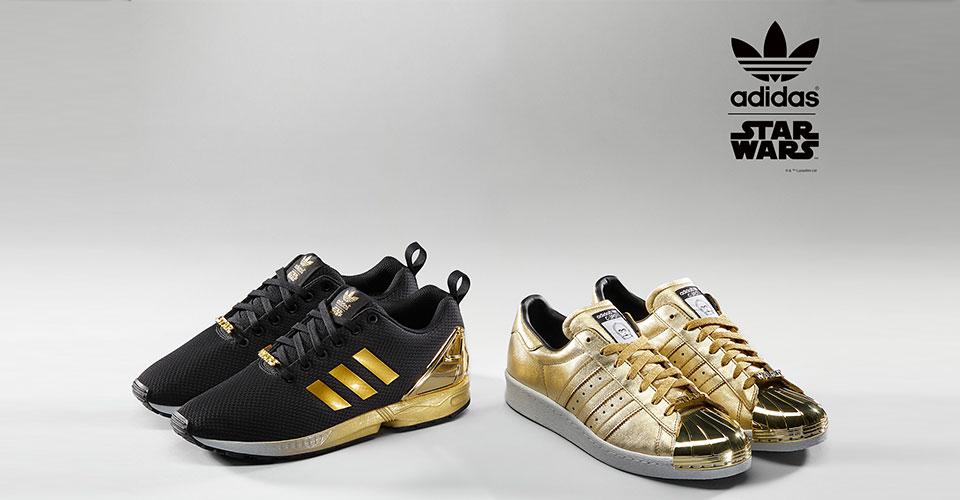 adidas mi star wars superstar 80s und zx flux sneakerlover. Black Bedroom Furniture Sets. Home Design Ideas