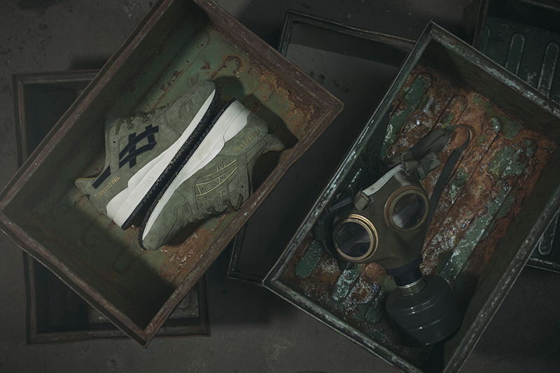 footpatrol asics gel-lyte 3 squad in der box