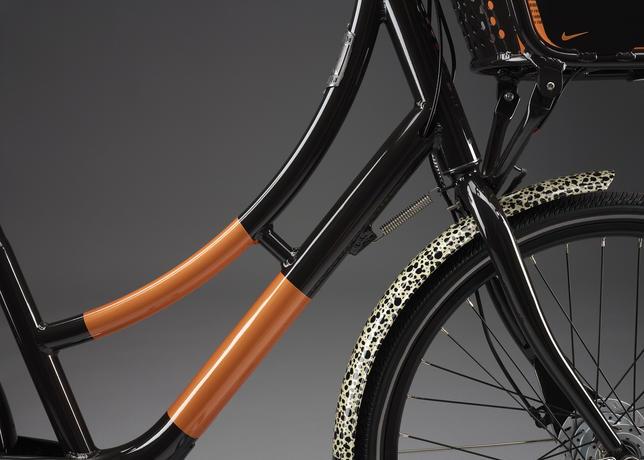 Nike Biketown Fahrrad Safari Edition Vorderrad